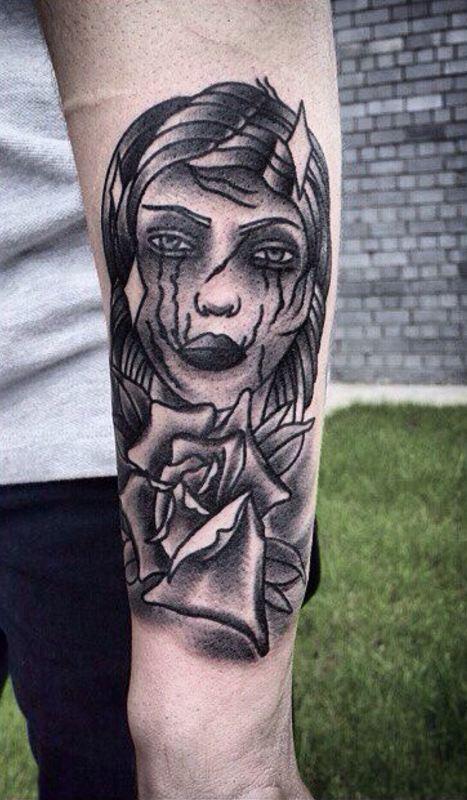 arm dragon tattoos designs