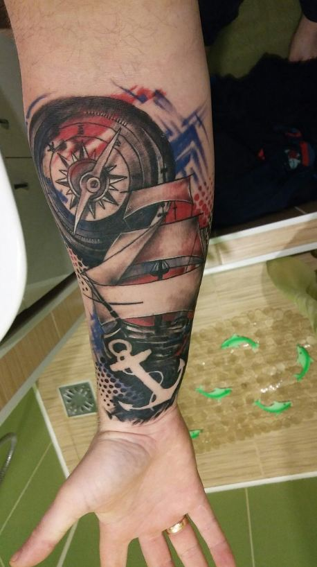 awesome wrist tattoos for men