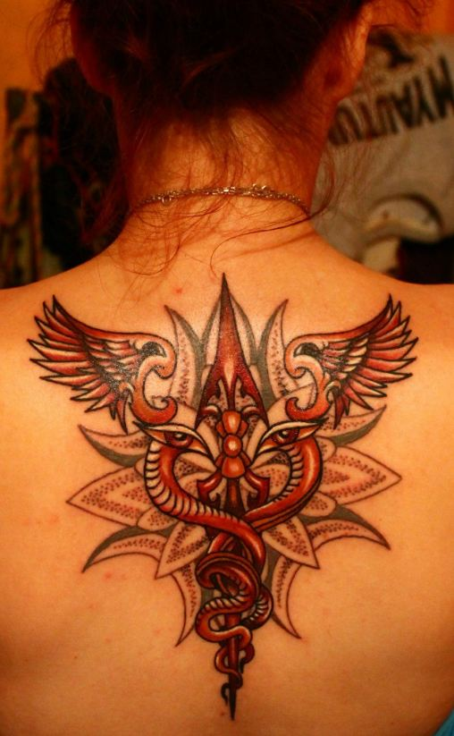 back tattoos ideas for women