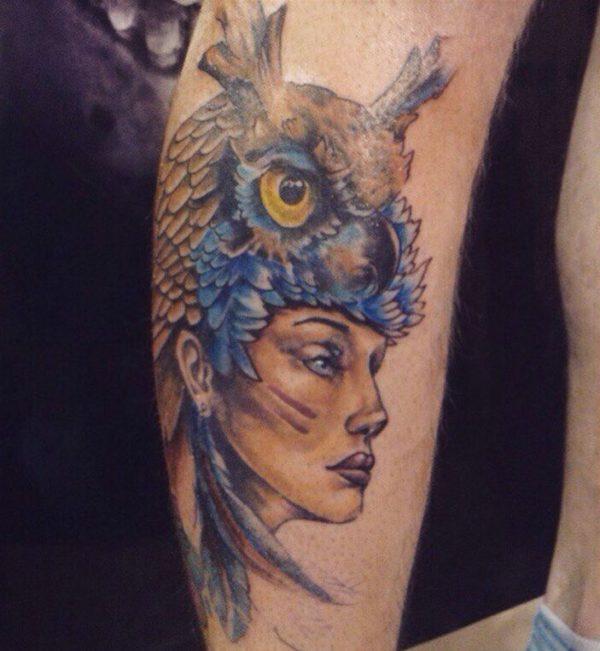 bird tattoos temporary
