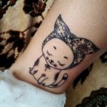 cat wrist tattoos