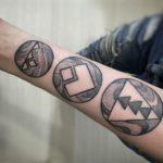 celtic wrist tattoos for men