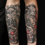 cool arm tattoos drawings
