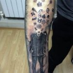 outer wrist tattoos designs