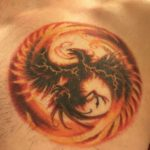 phoenix tattoo for men
