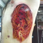 phoenix tattoo men