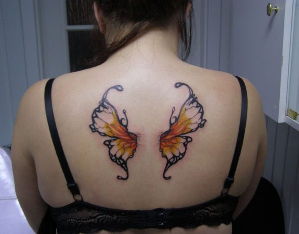 butterfly tattoos for women