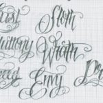 tattoo lettering free
