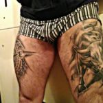 tattoos for men on leg