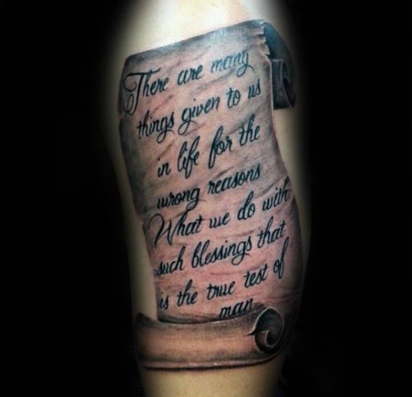 best upper arm tattoos