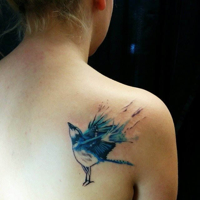 bluebird tattoos