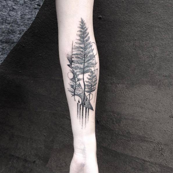 full arm tattoo for women