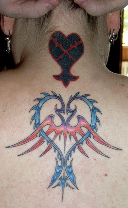 tattoo letter design