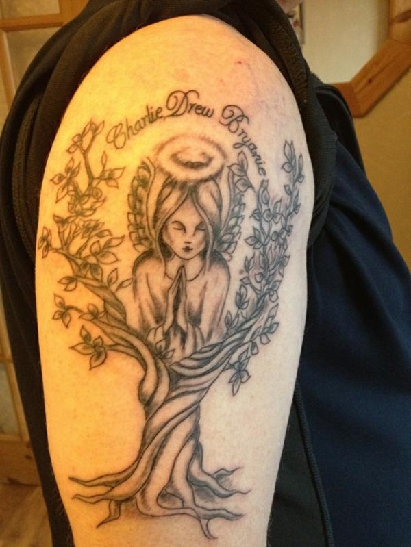 tribal phoenix tattoos