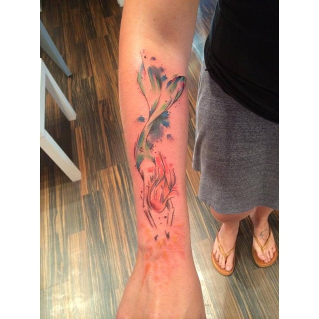 upper arm tattos