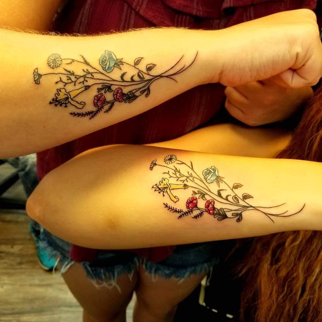 upperarm tattoo