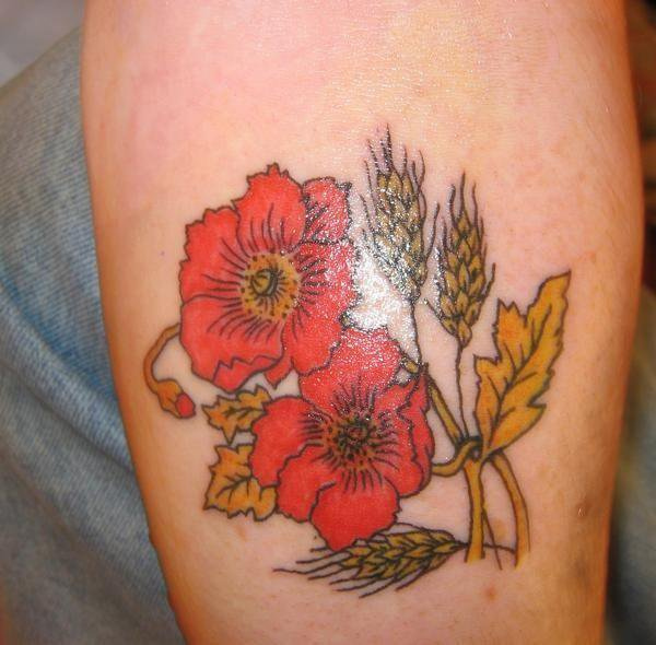 women ankle tattoos